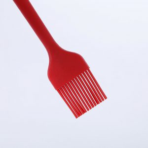 Detail of the bristles of the silicone kitchen brush LOE.