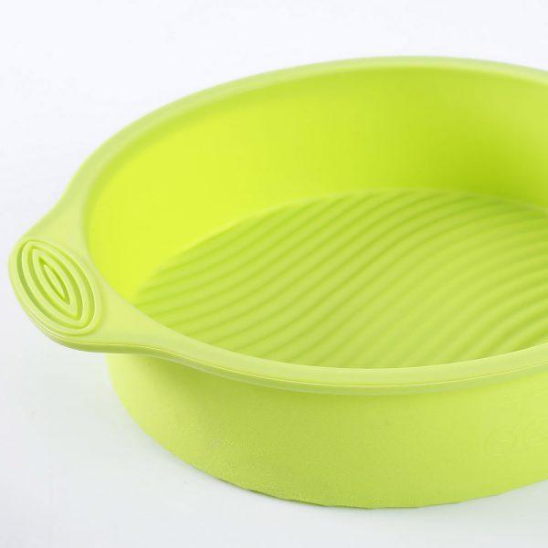 Detalle del molde de tarta de silicona de 22 cm de diámetro - 1