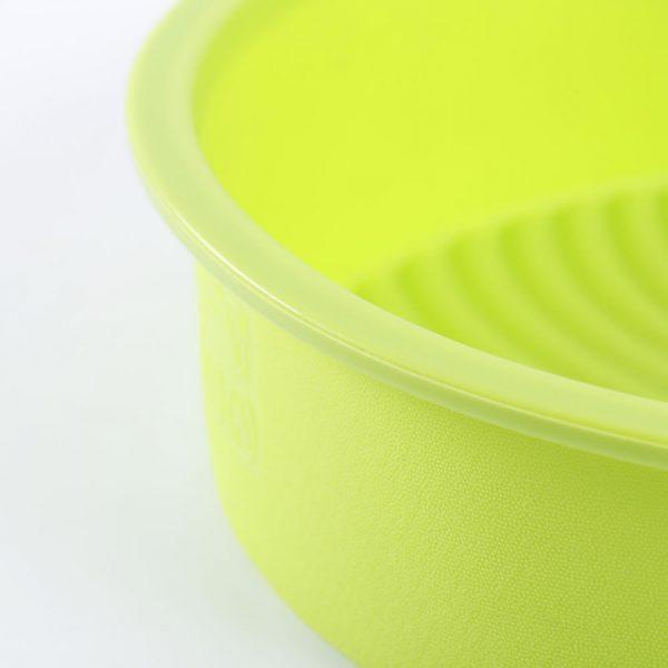 Detalle del molde de tarta de silicona de 22 cm de diámetro - 5