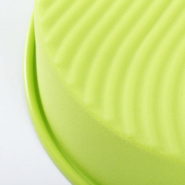 Detalle del molde de tarta de silicona de 22 cm de diámetro - 6